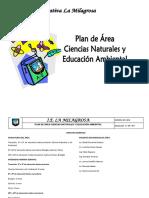 PLAN DE AREA  CIENCIAS NATURALES CON DBA