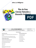 PLAN DE AREA  CIENCIAS NATURALES CON DBA