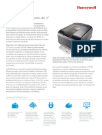 Pc42t Desktop Printer Data Sheet a4 Es