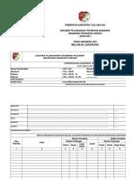 Format Perubahan Angaran PKM TA. 2019