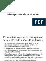 Management de La Sécurité