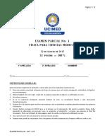 Examen Física UCIMED