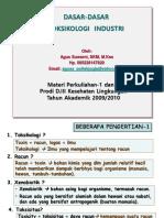 Toksikologi Lingk Industri D3 1-2-2011