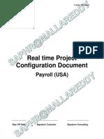 Payroll USA Configuration