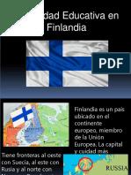 Modalidad Educativa en Finlandia