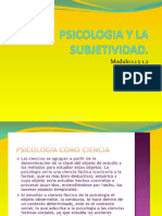 PSICOLOGIA EVOLUTIVA Modulo 1.1 y 1. 2 (Psicologia y La Subjetividad. Los Paradigmas) 4