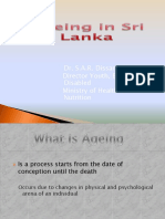 Ageing in Sri Lanka - Updated