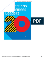20th Anniversary Book 20 Questions for Business Leaders