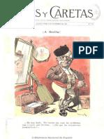 Revista Caras y Caretas N° 110 - 10 de noviembre de 1900
