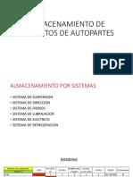 ALMACENAMIENTO DE REPUESTOS DE AUTOPARTES.pptx