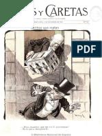 Revista Caras y Caretas N° 109 - 3 de noviembre de 1900