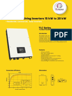 Fortuners Three Phase on Grid Inverter_15Kw to 20Kw