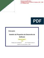 Guia Para Desarrollo de Proyectos de Software