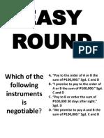 Easy Round