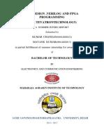 Training report on Verilog