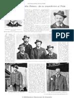 Revista Caras y Caretas N° 107 - 19 de noviembre de 1900