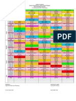 Time Table 2019-2020