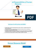 Roles of HR