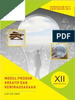 Modul Produk Kreatif & Kewirausahaan Kelas XII