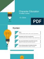 Feri Sulianta - Pendidikan Karakter (Character Education)