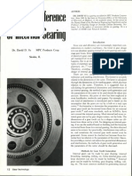 dddInterference in Internal Gearing