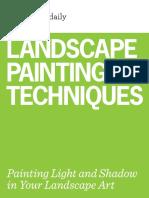 Landscape Painting technique