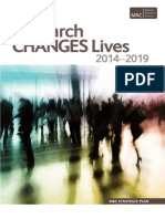 MRC Medical Research Council-Strategic Plan 2014-2019