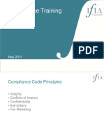IFIA Compliance Training Guide May 2011
