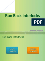 Run Back Interlocks