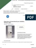 Disjoncteurs de branchement pour installation Tarif bleu _ Elfa+ - GE Energy Solutions