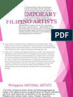 CONTEMPORARY FILIPINO ARTISTS 4.pptx