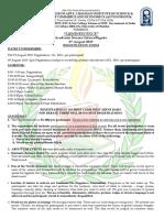Luminescence 2019 Rules & Regulations