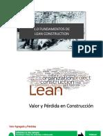 4 Fundamentos de Lean Construction