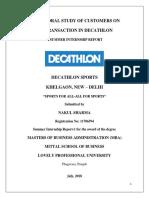 Decathlon Final Report 29th Sept