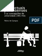 Intelectuais Paranaenses e as Concepcoes de Universidade