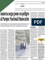 Minería Ilegal en Áncash Perú