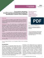 Ligand Based Pharmacophore Modelingvirtual Screening and Molecular Docking Foridentification of Novel Cyp51 Inhibitors