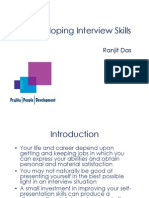 Developing Interview Skills