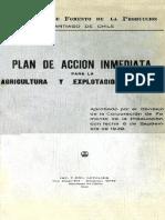 1940- CORFO-Plan de Acción Inmediata Para La Agricultura y Explotaciones Afines