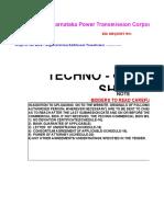Tec Com Sheet Format Percentage Tender