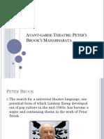 Avant Garde Theatre