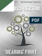 Bearings sector