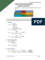 Formulas Deducidas