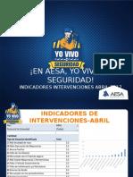 Indicadores Intervenciones Abril 2017