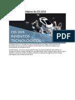 Ces 2019 Inventos