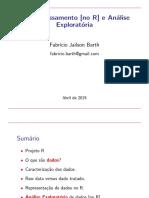 Pre-processamento no R e Analise Exploratória
