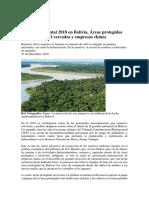 Balance Ambiental 2018 en Bolivia