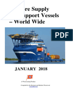 Offshore Supply and Support Vessels Worldwide 2018