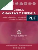 Curso Chakras Energia Los 7 Chakras