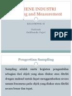 ppt sampling dan measurement